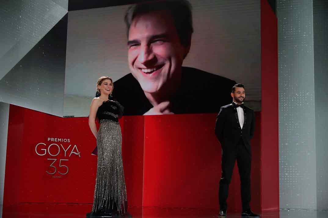 Alberto San Juan por Sentimental Goya Mejor Actor de Reparto ©Miguel Córdoba – Cortesía de la Academia de Cine