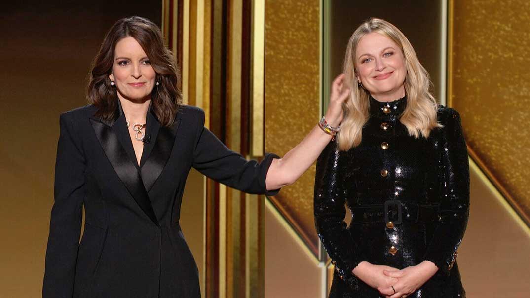 Amy Poehler y Tina Fey - Globos de Oro 2021 © NBC