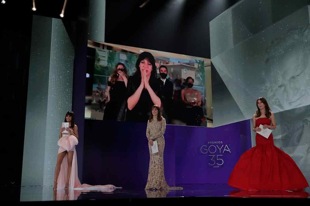 Daniela Cajías por Las niñas Ganador Goya Mejor Dirección de Fotografía ©Miguel Córdoba – Cortesía de la Academia de Cine