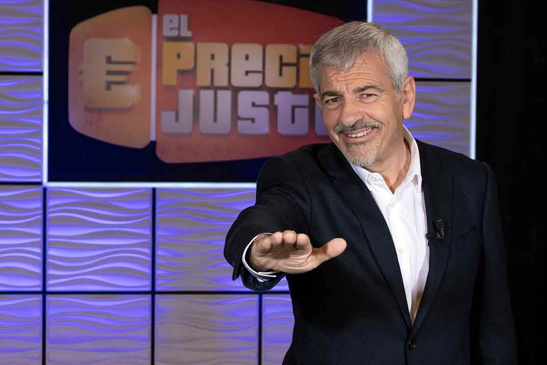 Carlos Sobera - El Precio Justo © Mediaset