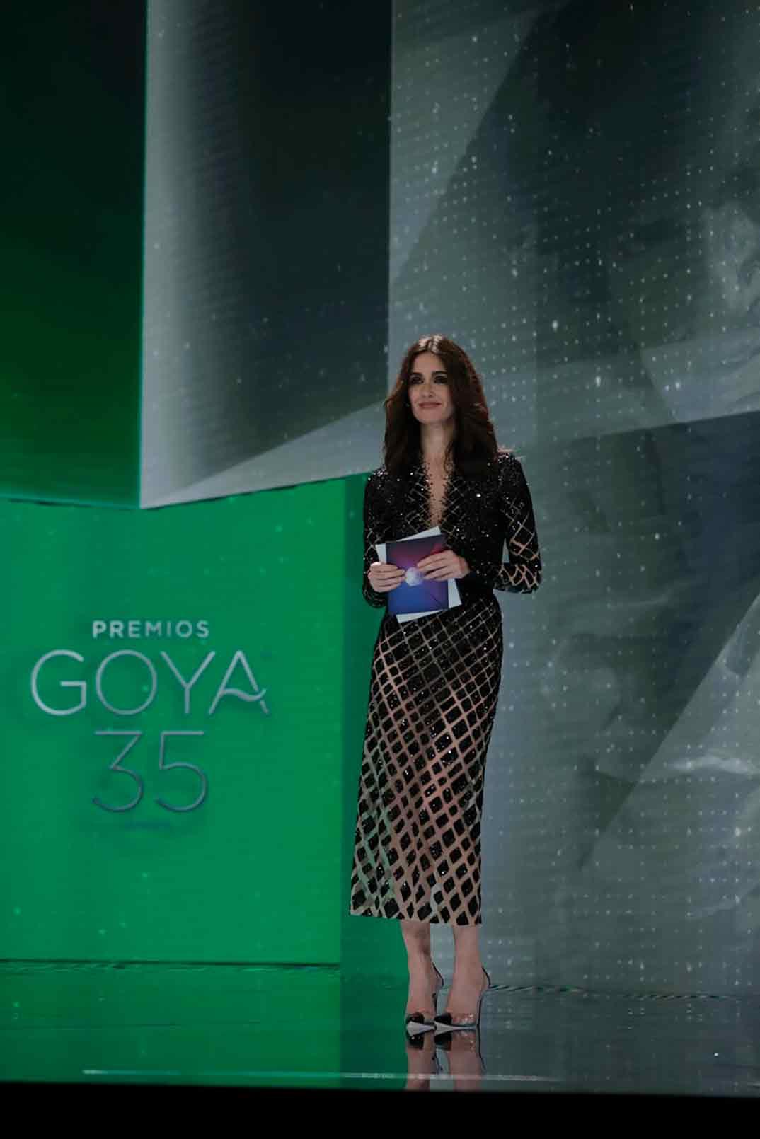 Paz Vega Premios Goya 2021 ©Miguel Córdoba – Cortesía de la Academia de Cine