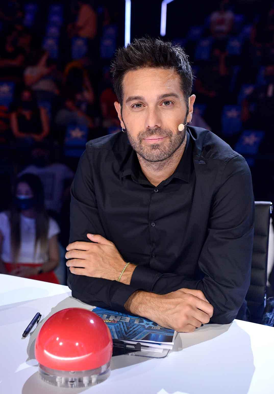 Dani Martínez - Got Talent 6- Semifinal © Mediaset