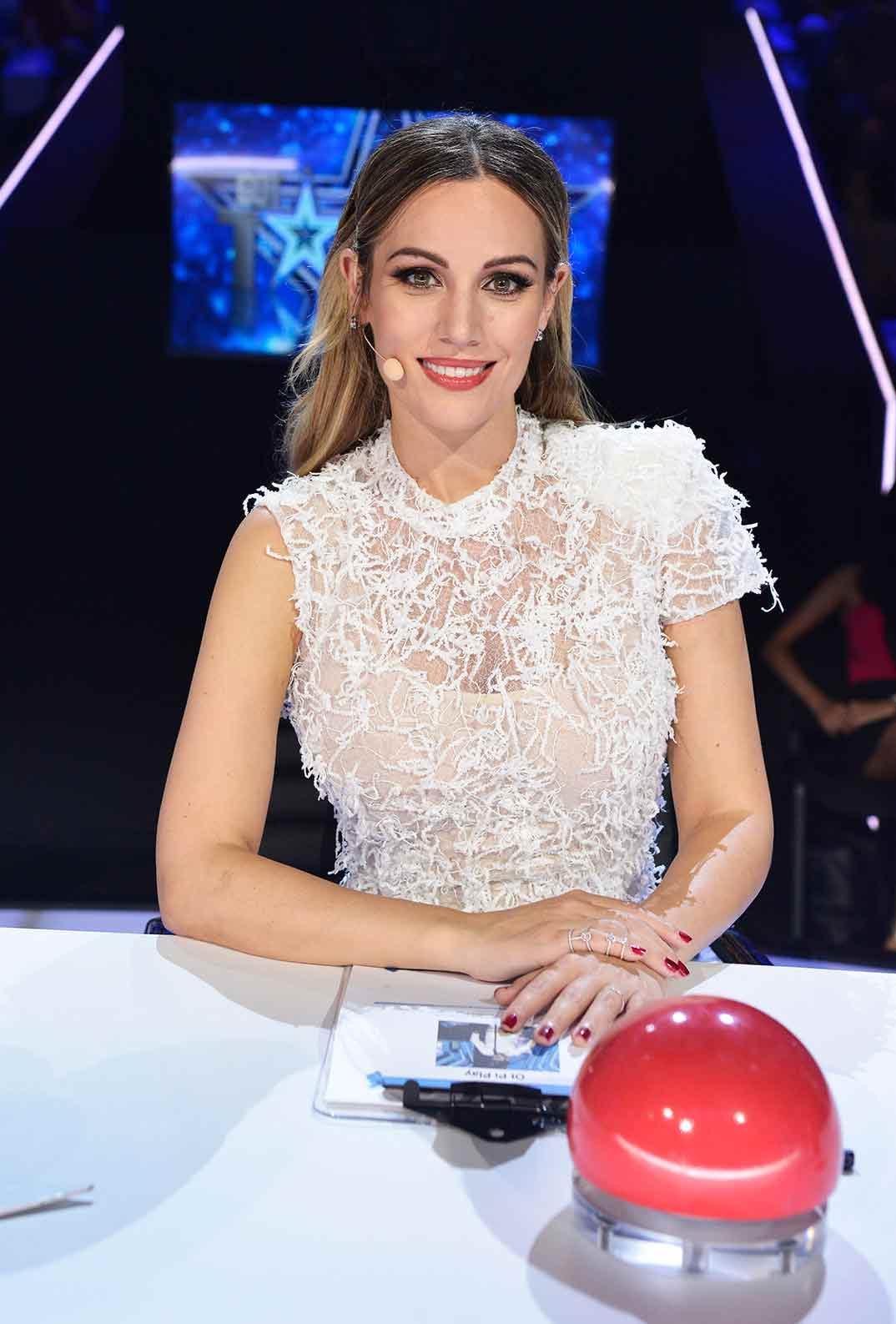 Edurne - Got Talent 6- Semifinal © Mediaset