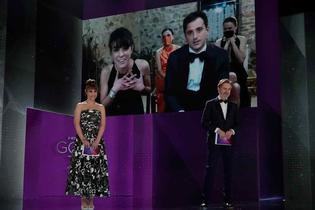 Ganador Goya Mejor Guion Adaptado ©Miguel Córdoba – Cortesía de la Academia de Cine David Pérez Sañudo y Marina Parés Pulido por Ane