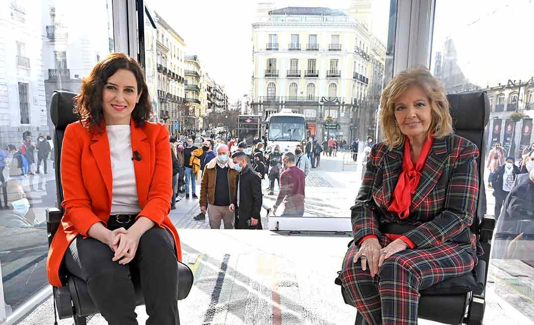 María Teresa Campos e Isabel Díaz Ayuso - Las Campos Móvil © Mediaset