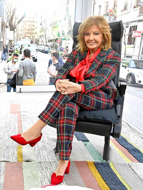 Maria Teresa Campos - Las Campos Móvil © Mediaset