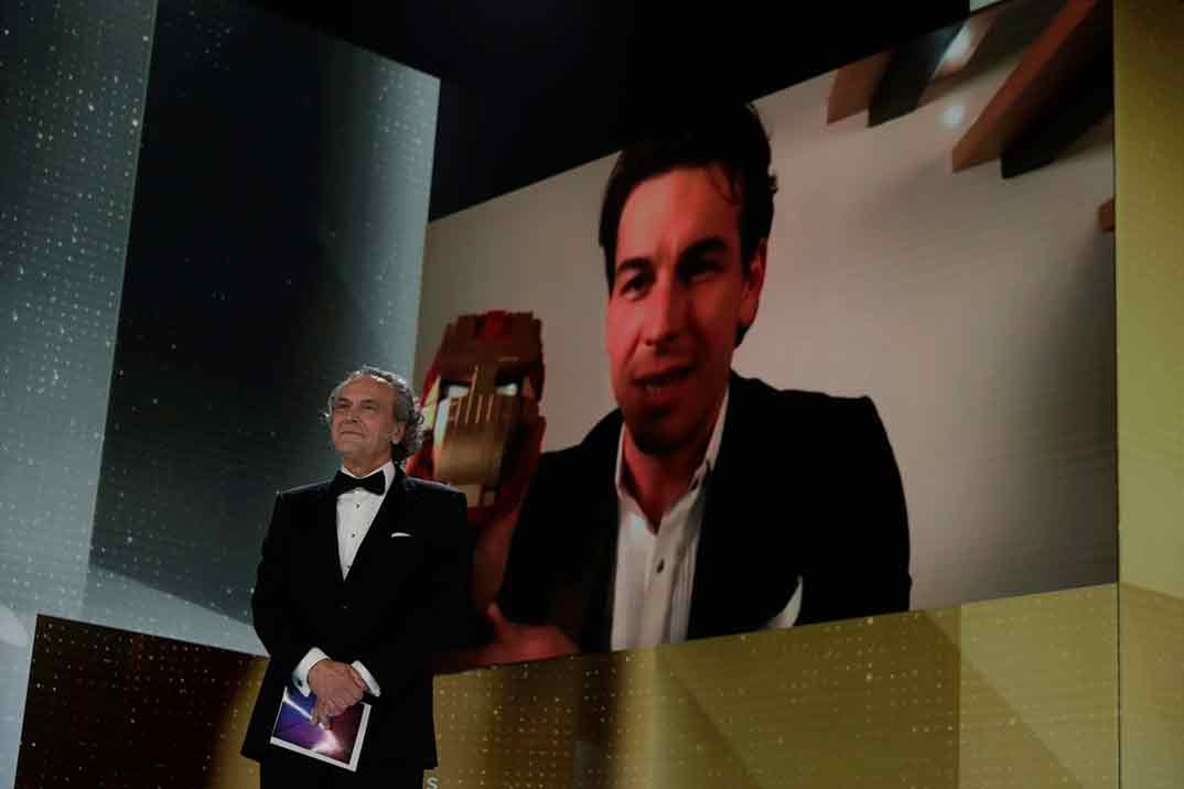 Mario Casas por No matarás Goya Mejor Actor Protagonista ©Miguel Córdoba – Cortesía de la Academia de Cine