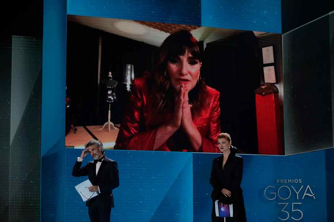 Que no, que no de Rozalén por La boda de Rosa Ganador Goya Mejor Canción Original ©Miguel Córdoba – Cortesía de la Academia de Cine