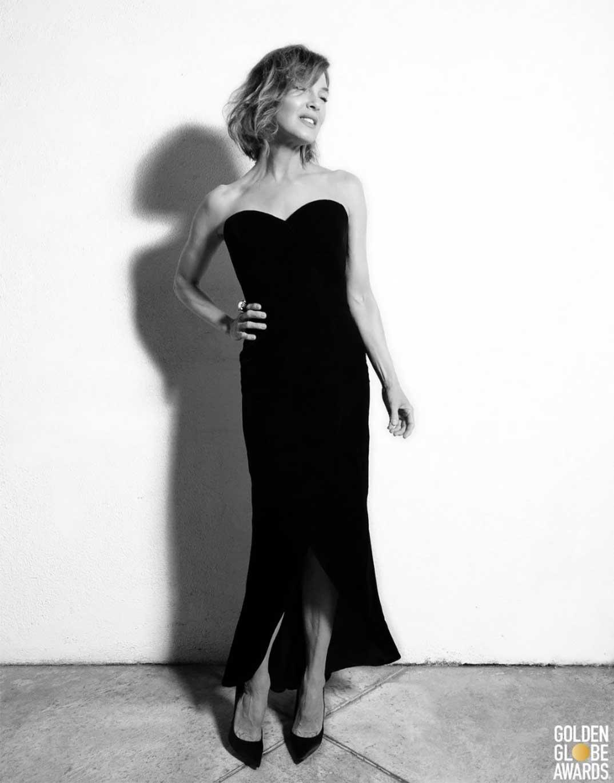 Renee Zellweger - Globos de Oro 2021 © Instagram