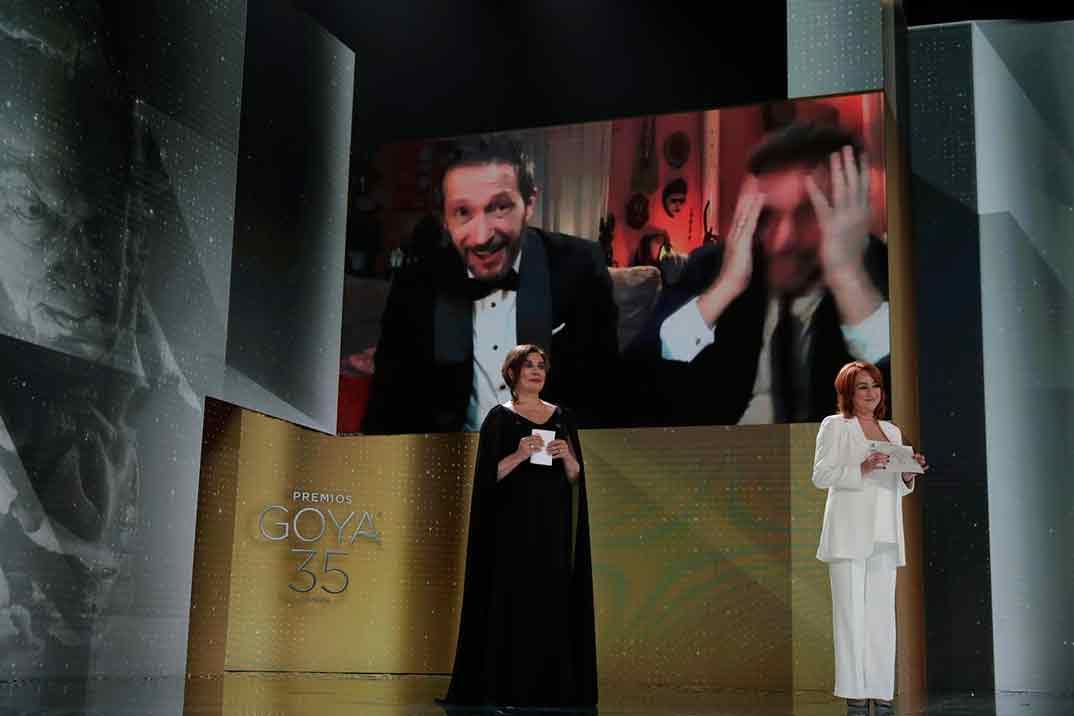 Salvador Calvo por Adú Ganador Goya Mejor Dirección ©Miguel Córdoba – Cortesía de la Academia de Cine