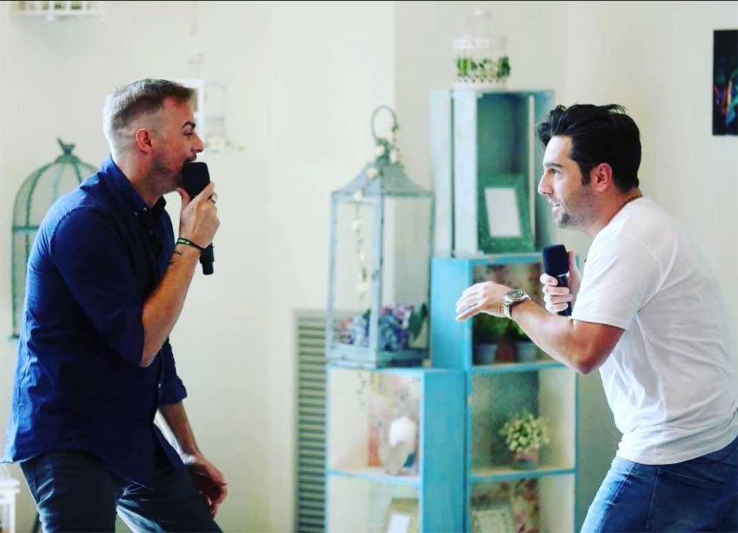 Álex Casademunt y David Bustamante © Instagram