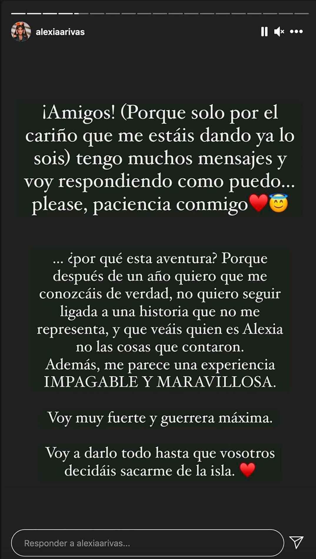 Alexia Rivas © Instagram
