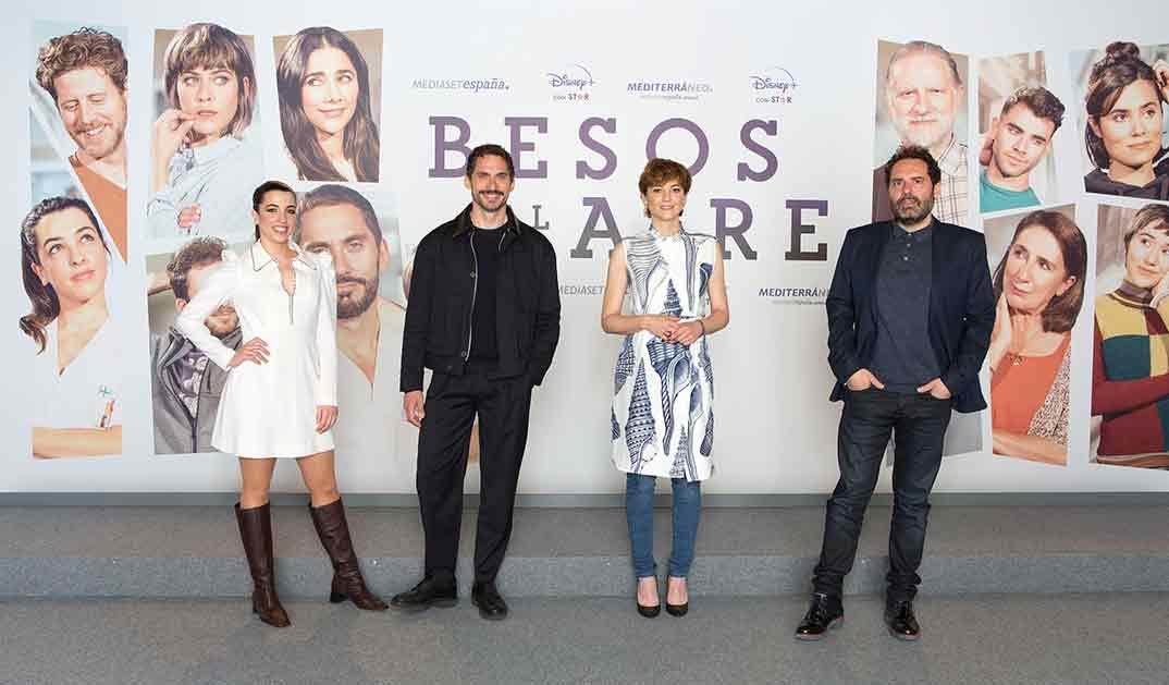 Paco León y Leonor Watling - Besos al aire © Mediaset