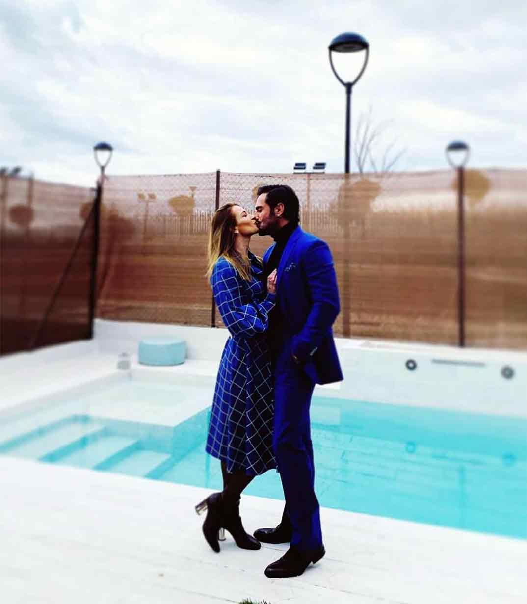 Yana Olina y David Bustamante © Instagram