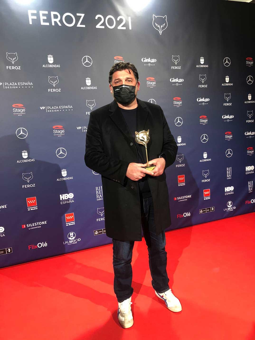 Hovik Keuchkerian- Premios Feroz 2021 @PremiosFeroz