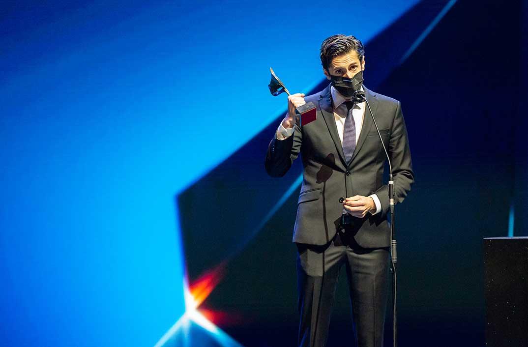Juan Diego Botto - Premios Feroz 2021 @PremiosFeroz