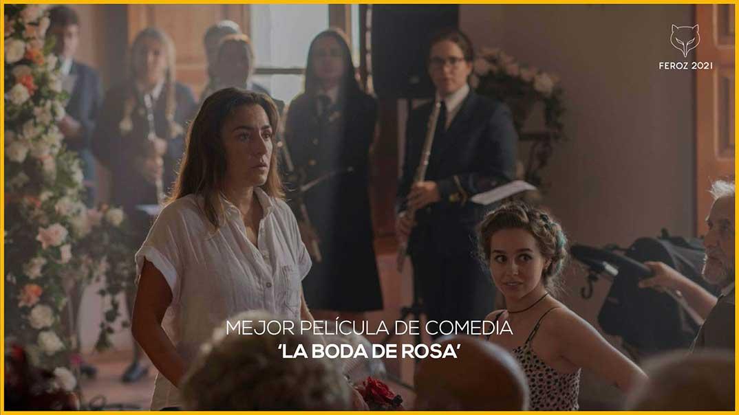 La boda de Rosa - Premios Feroz 2021 @PremiosFeroz