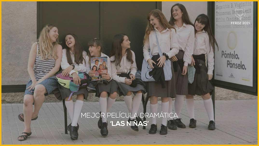 Las niñas - Premios Feroz 2021 @PremiosFeroz