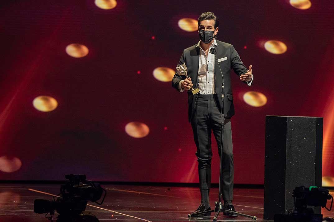 Mario Casas - Premios Feroz 2021 @PremiosFeroz