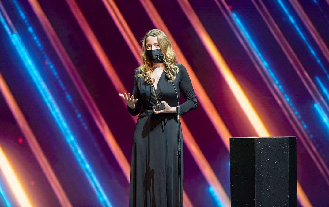 Pilar Romero - Premios Feroz 2021 @PremiosFeroz
