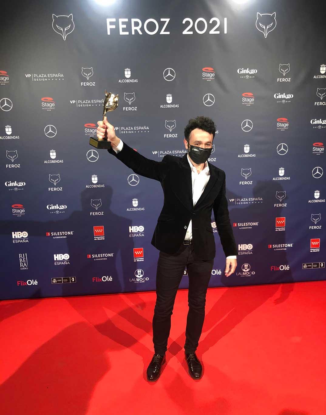 Rodrigo Sorogoyen - Premios Feroz 2021 @PremiosFeroz