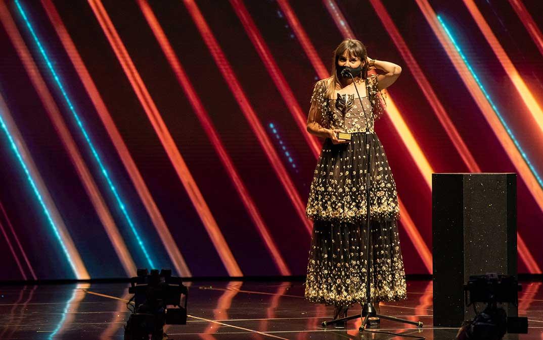 Verónica Echegui - Premios Feroz 2021 @PremiosFeroz