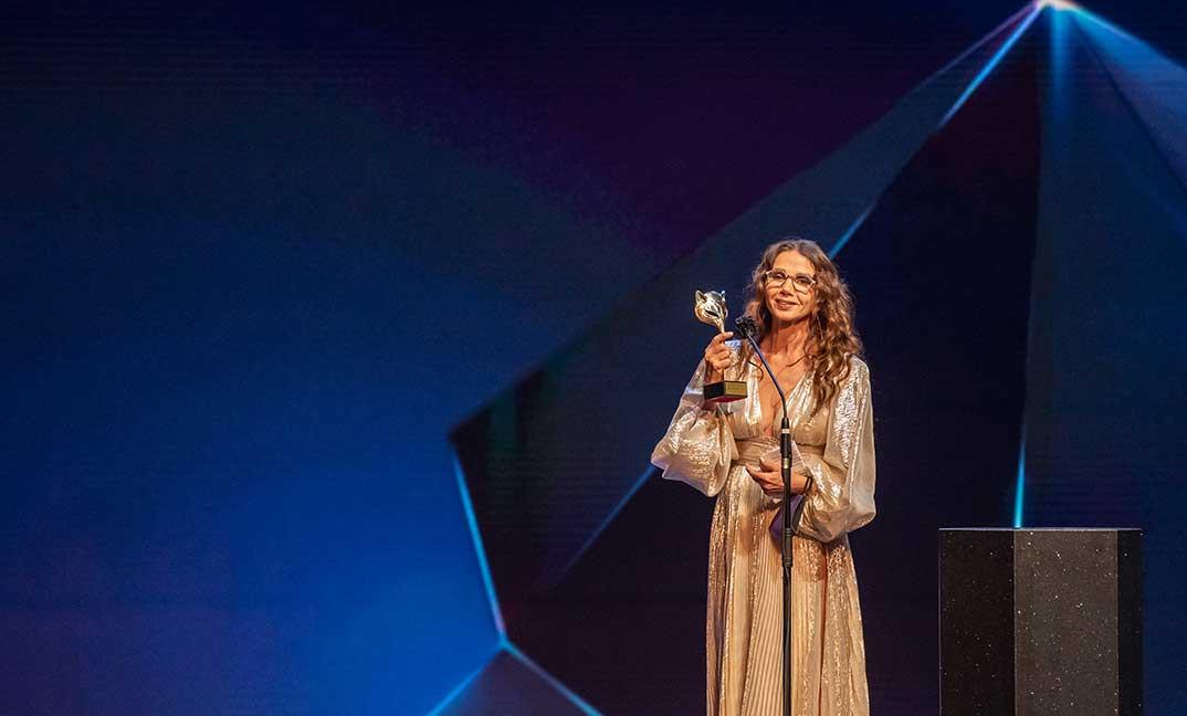 Victoria Abril - Premios Feroz 2021 @PremiosFeroz