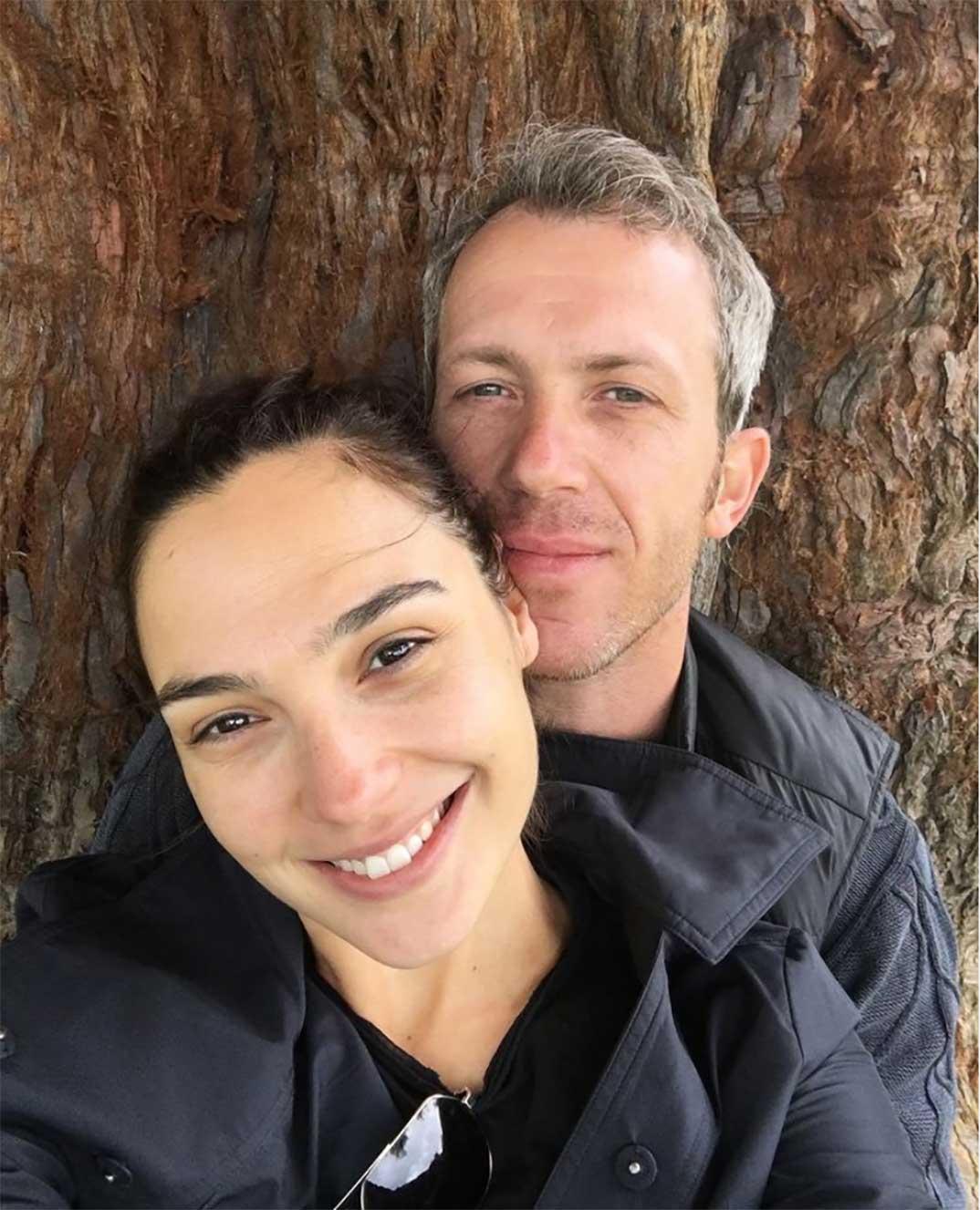 Gal Gadot y su marido © Instagram
