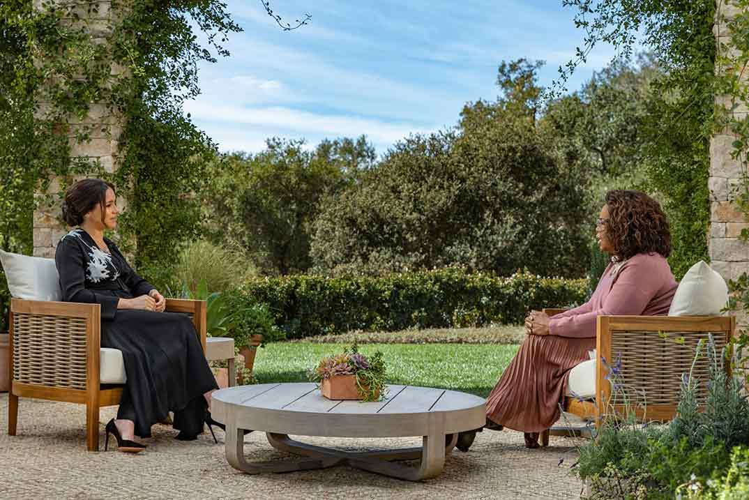 Príncipe Harry y Meghan Markle - Entrevista con Oprah Winfrey © CBS
