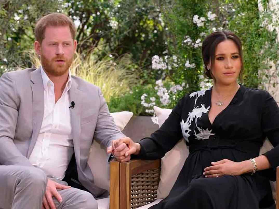 Príncipe Harry y Meghan Markle - Entrevista con Oprah Winfrey © CBSPríncipe Harry y Meghan Markle - Entrevista con Oprah Winfrey © CBS