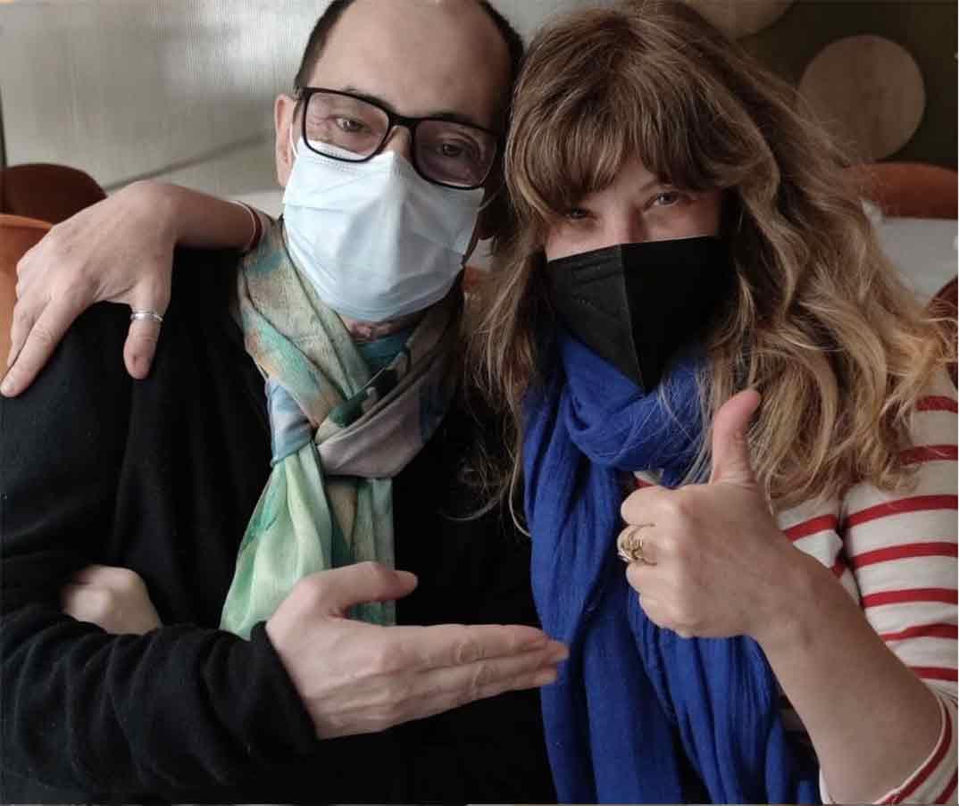 Jordi Sánchez y Nathalie Seseña © Instagram