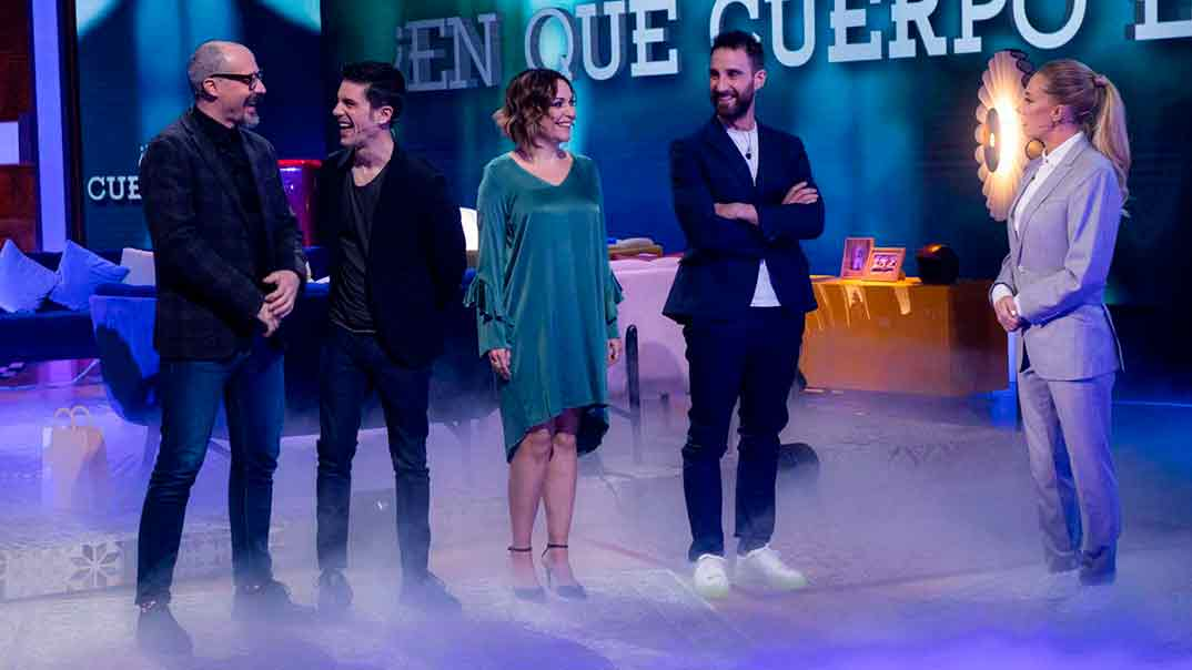 Fele Martínez, Alejo Sauras, y Cristina Plazas invitados de Dani Rovira en 'La Noche D' © Raquel Rodríguez/RTVE