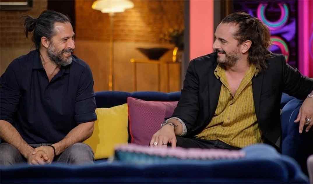 Hugo Silva y Asier Etxeandía - La noche D © RTVE