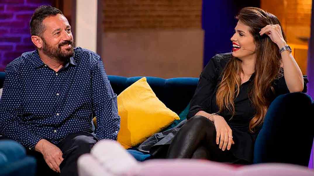 Pepón Nieto y Sara Sálamo - 'La Noche D' © Raquel Rodríguez/RTVE
