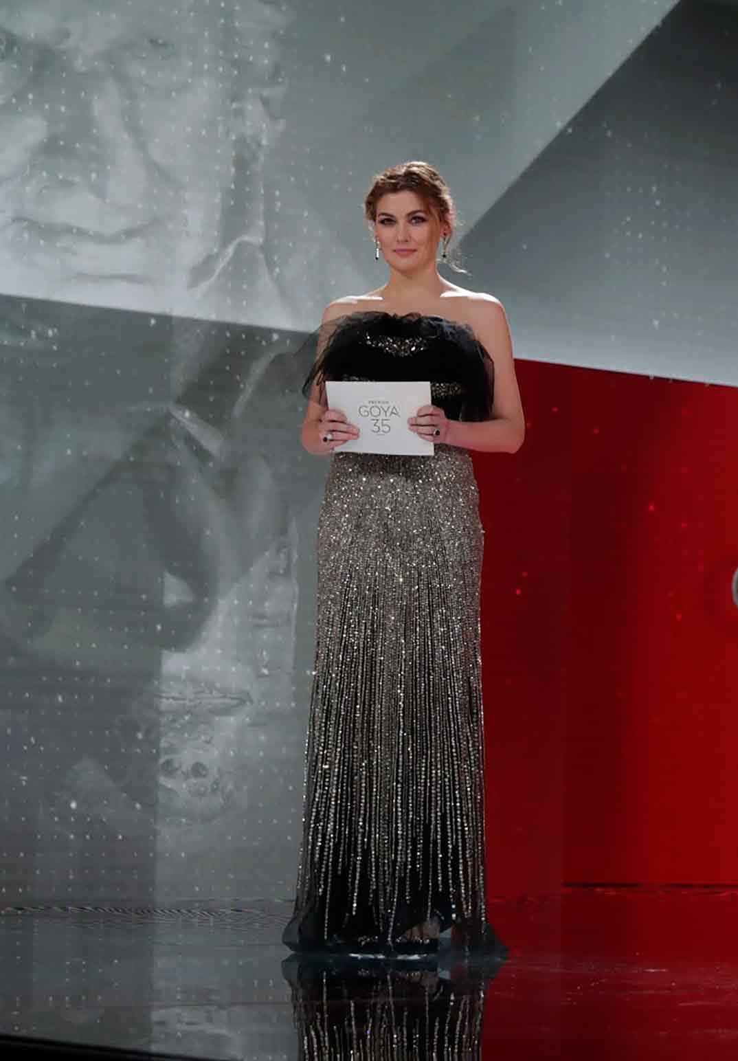María Casado en la gala de los Premios Goya 2021 (2) ©Miguel Córdoba – Cortesía de la Academia de Cine