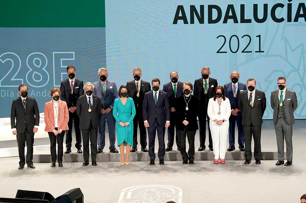 Medallas de Andalucía 2021 © Redes Sociales