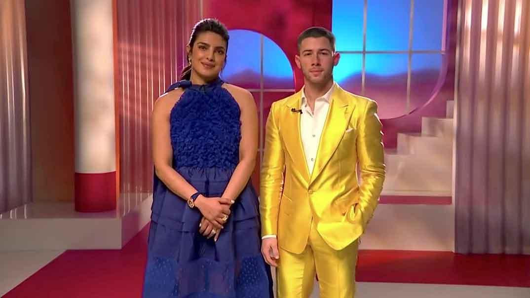 Priyanka Chopra y Nick Jonas - Nominados Oscar 2021 © FOLLETO / AMPAS