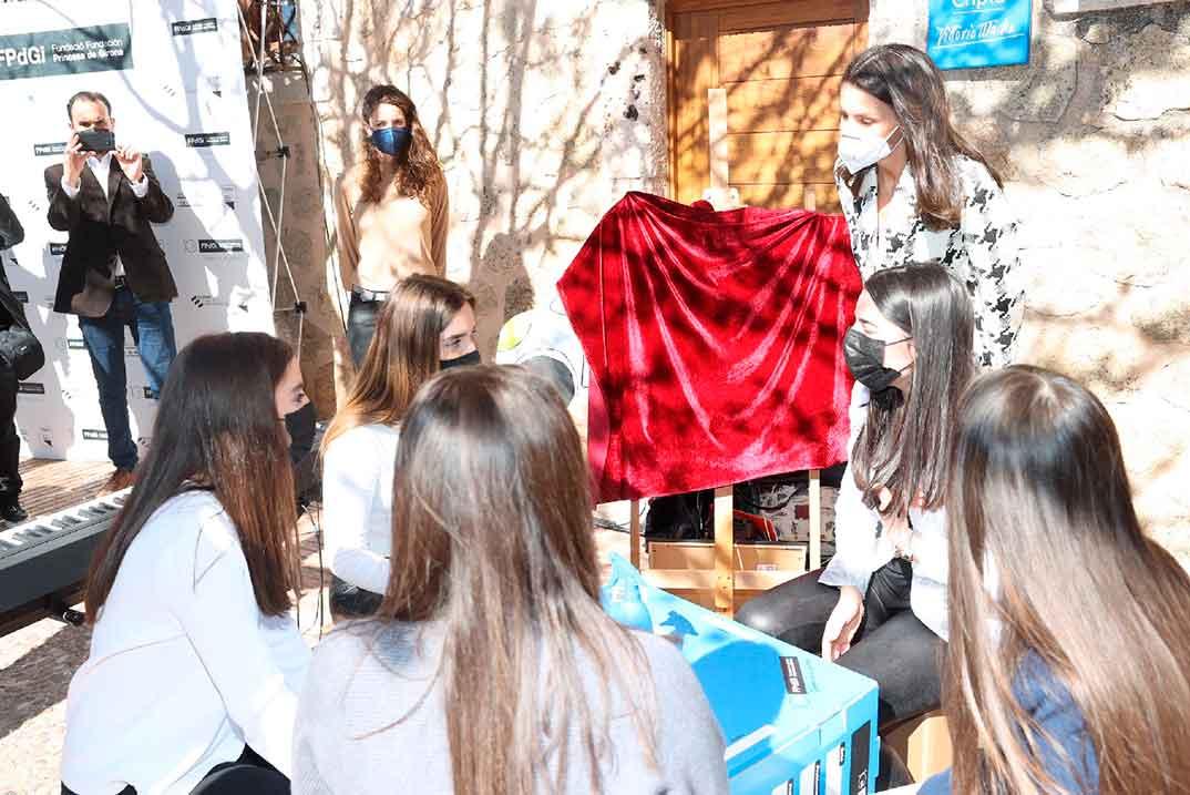 """Reina Letizia - Premio Fundación Princesa de Girona 2021"""" en la categoría de """"Empresa""""  © Casa S.M. El Rey"""