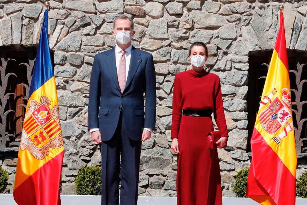 Los estilismos de la reina Letizia a su llegada a Andorra