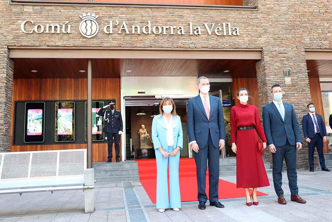 Reyes Felipe y Letizia - Viaje oficial Andorra © Casa S.M. El Rey