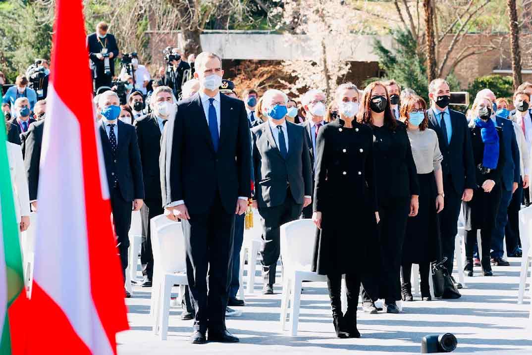 Reyes Felipe y Letizia - Homenaje Víctimas del Terrorismo © Casa S.M. El Rey
