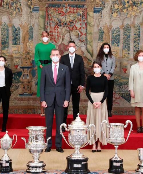 Los Reyes entregan los Premios Nacionales del Deporte 2018