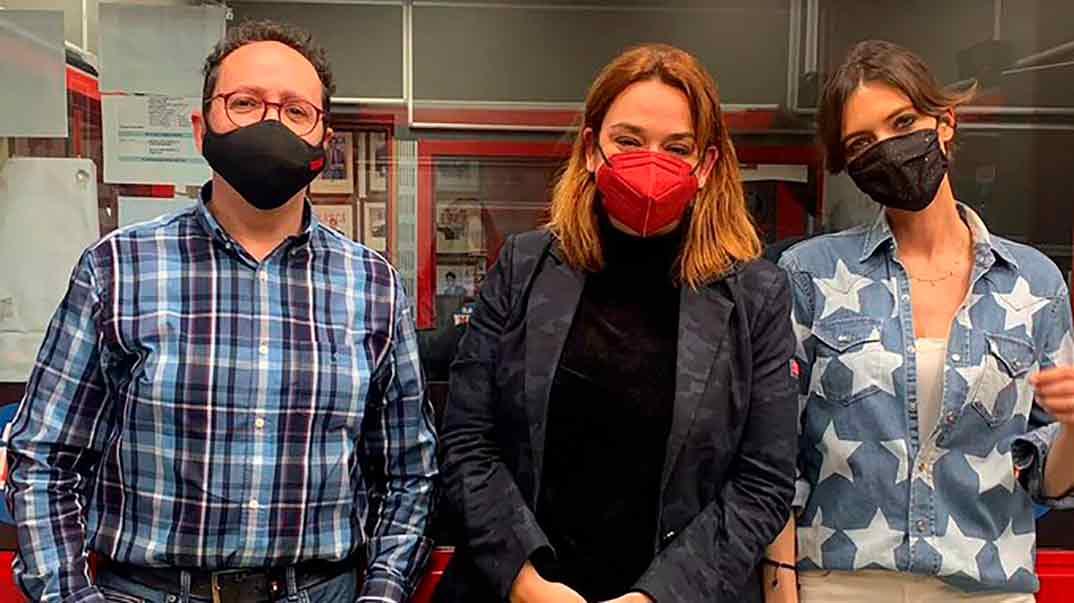Vicente Ortega, Toñi Moreno y Sara Carbonero © Instagram