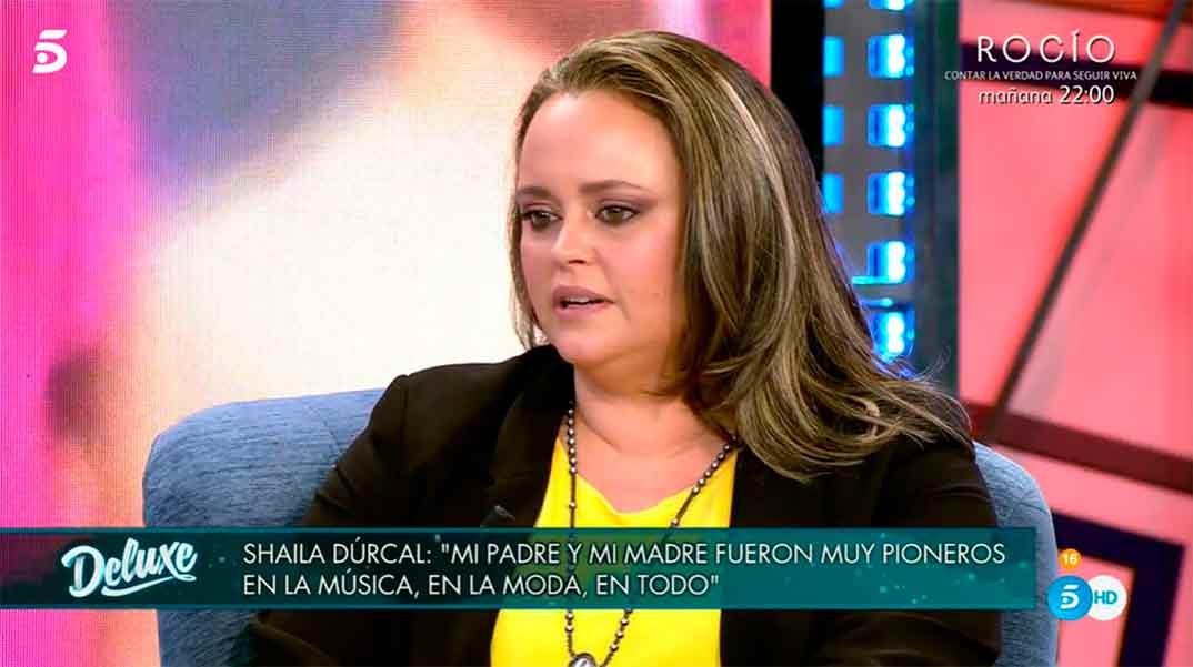 Shaila Dúrcal - Sábado Deluxe © Telecinco