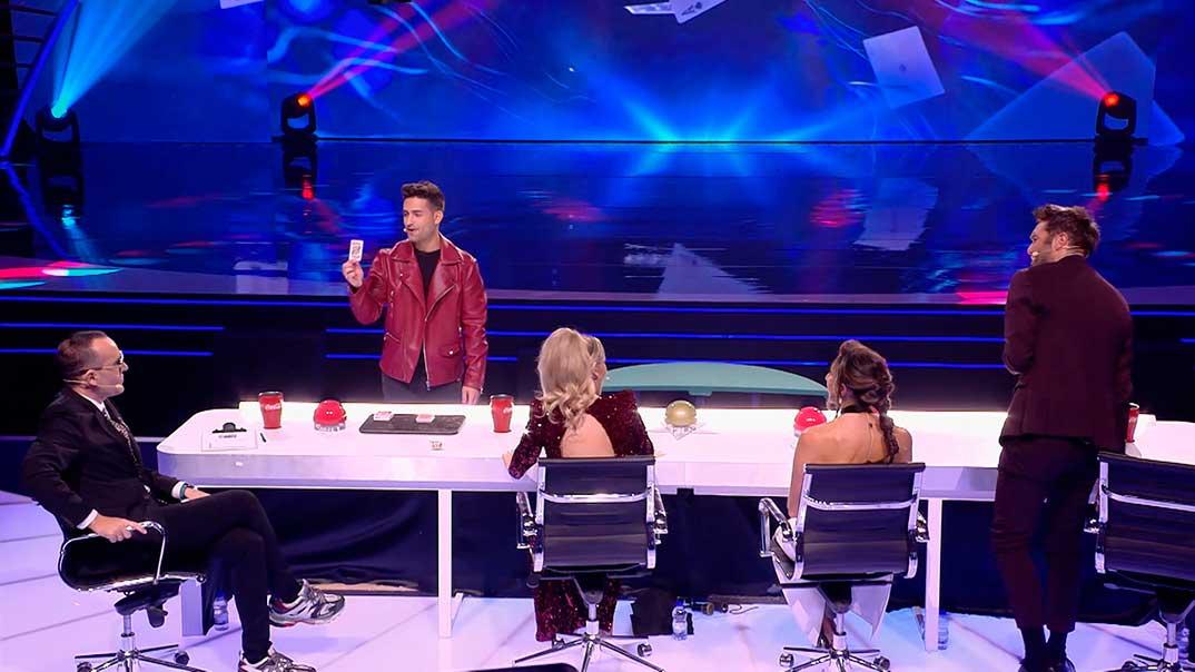 Risto Mejide, Edurne, Paz Padilla, Dani Martínez - Got Talent España - Tercera Semifinal © Telecinco