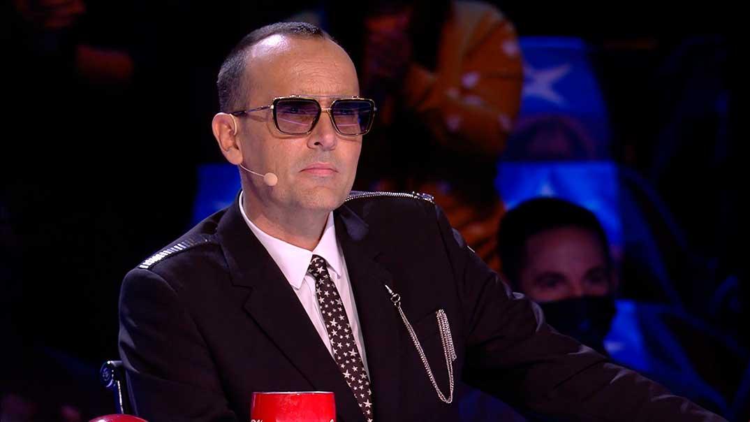 Risto Mejide - Got Talent España - Tercera Semifinal © Telecinco