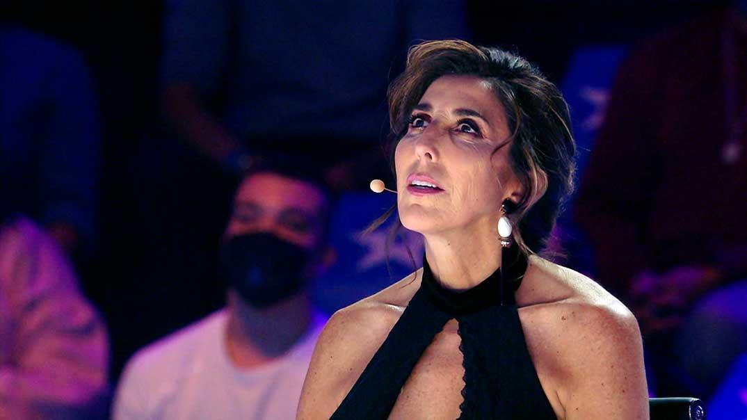 Paz Padilla - Got Talent España - Tercera Semifinal © Telecinco