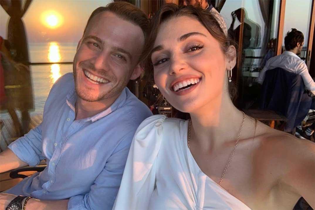 Hande Erçel y Kerem Bürsin confirman su relación en Maldivas