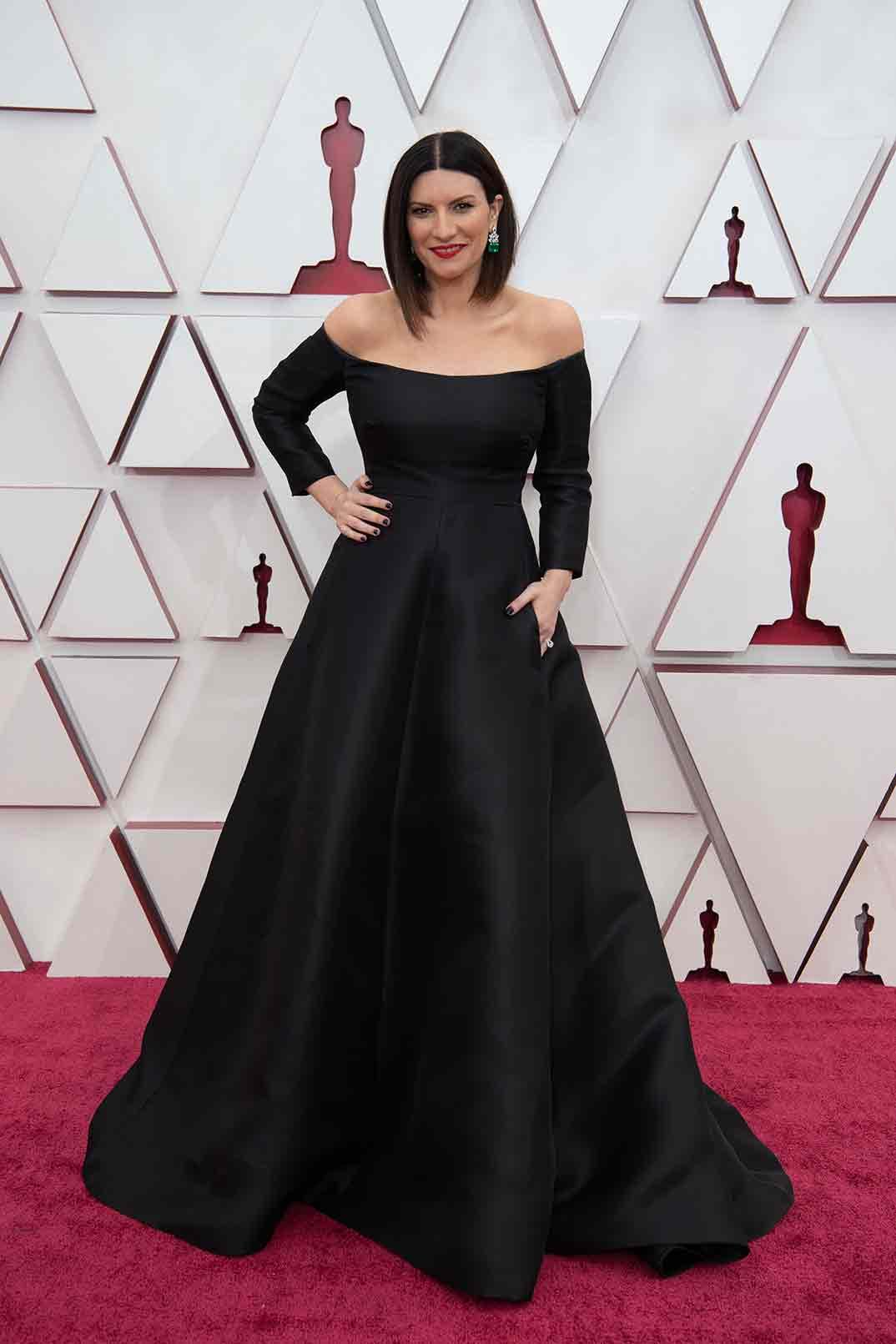 Laura Pausini - Premios Oscar 2021 © Matt Petit / AMPAS