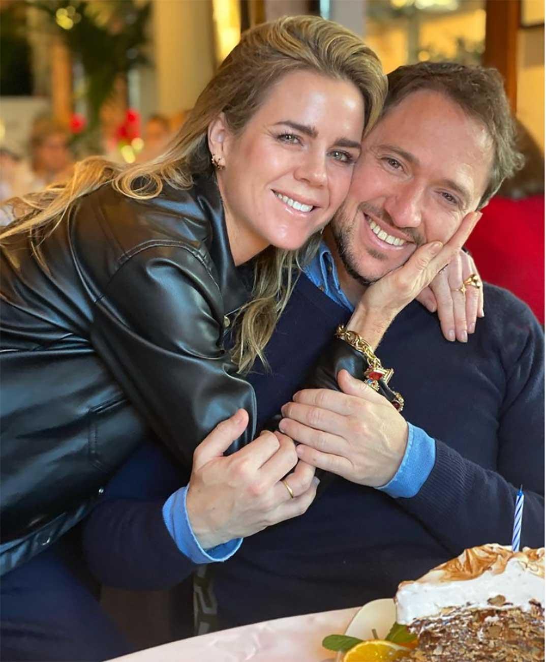 Amelia Bono y Manuel Martos © Instagram